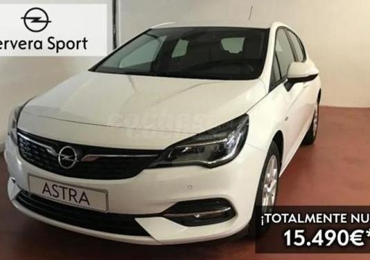 Opel astra 1.5d dvc 77kw 105cv astra 5p.