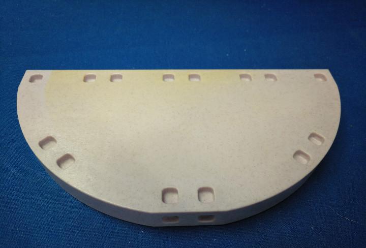 Playmobil base semicircular con desgaste, system x
