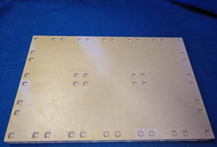 Playmobil plataforma rectangular system x con desgaste