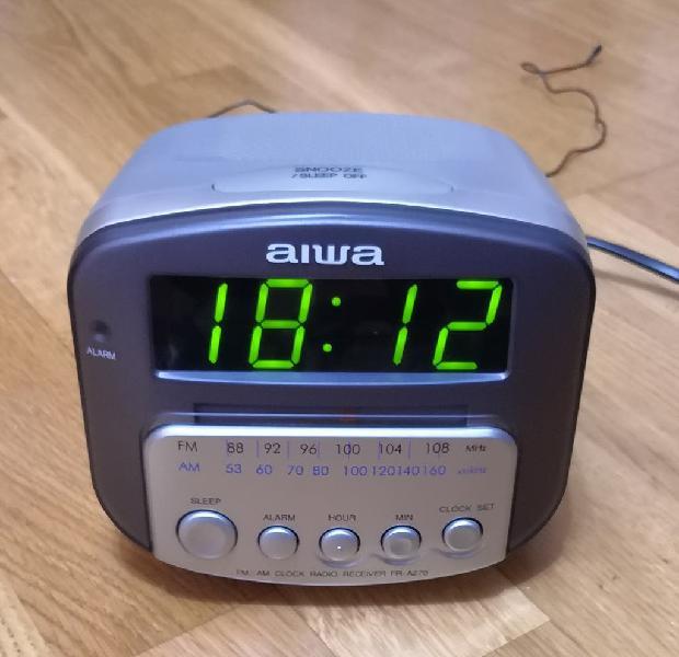 Radio despertador aiwa fr-a270ez
