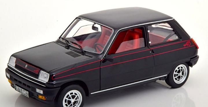 Renault 5 alpine 1976 escala 1/18 de norev
