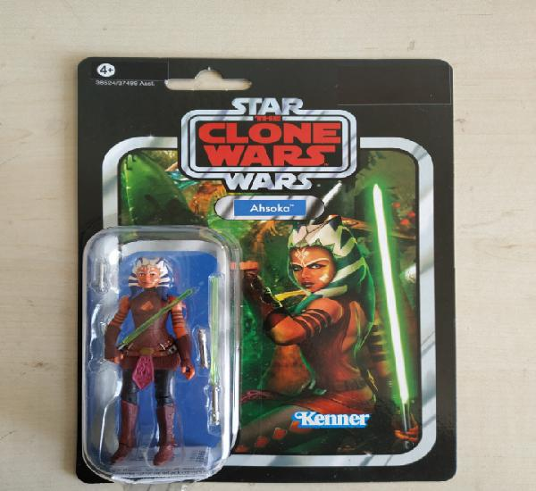 Star wars blister nuevo sin abrir ahsoka the clone wars