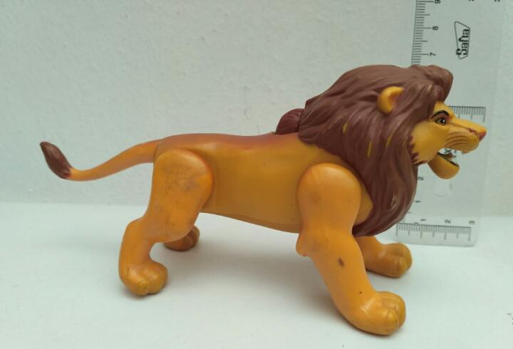 Simba articulado el rey león figura disney