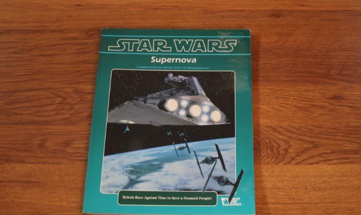 Supernova libro juego rol star wars rpg weg joc suplemento