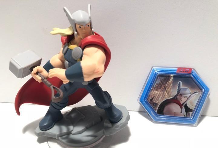 Thor + power disc disney infinity 2.0 marvel
