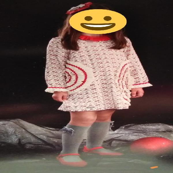 Vestido pituka 10 años + leotardos