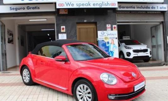 Volkswagen beetle cabrio design 1.2 tsi 105cv bmt