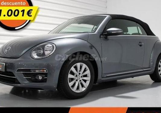 Volkswagen beetle design 1.2 tsi 77kw 105cv cabrio