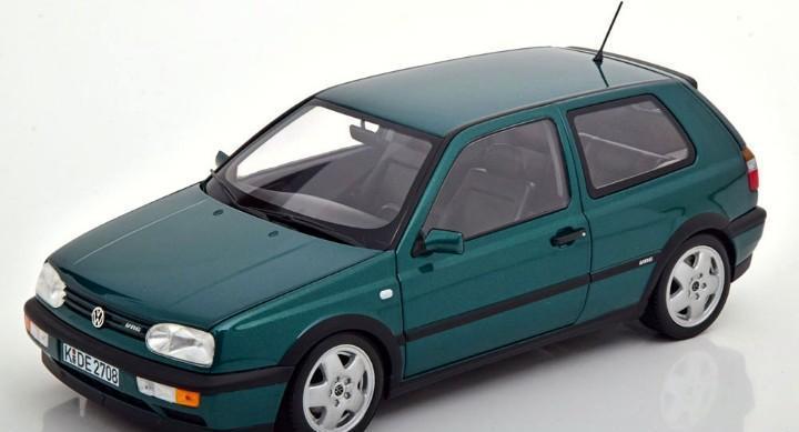 Volkswagen golf iii vr6 1996 escala 1/18 de norev
