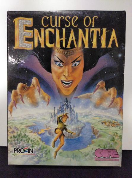 Cursé of enchantia (no viene juegos solo caja)