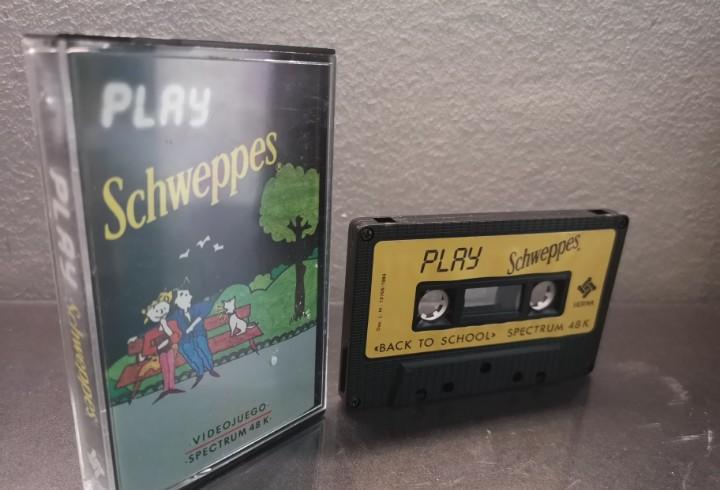 Raro play schweppes juego spectrum