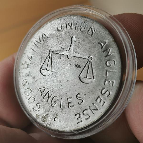 100 pesetas cooperativa unión anglesense