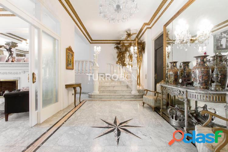 Espectacular villa-palacete