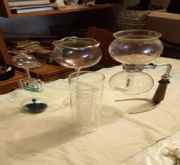 4 piezas de cristal
