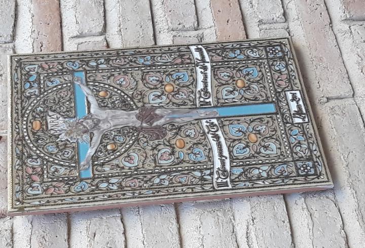 Azulejo en ceramica de arista, pintada y vidriada - l`alora