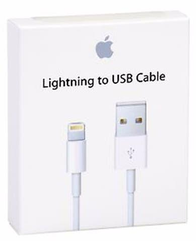 Apple cable lightning-usb original nuevo