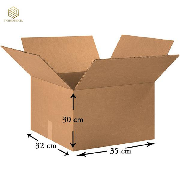 Cajas de cartón 35x32x30 --- cajas mudanza