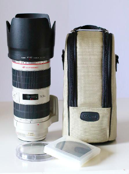 Canon 70 200 2.8 ii filtros