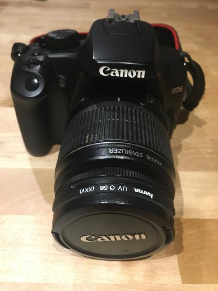 Canon eos 1000d + funda