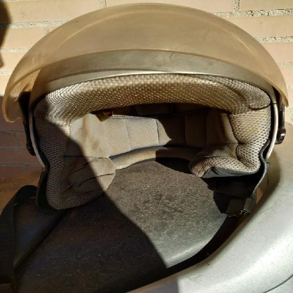 Casco de moto semi integral