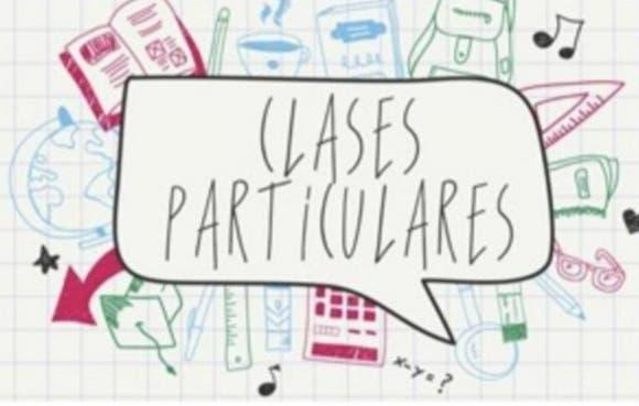 Clases particulares (primaria)