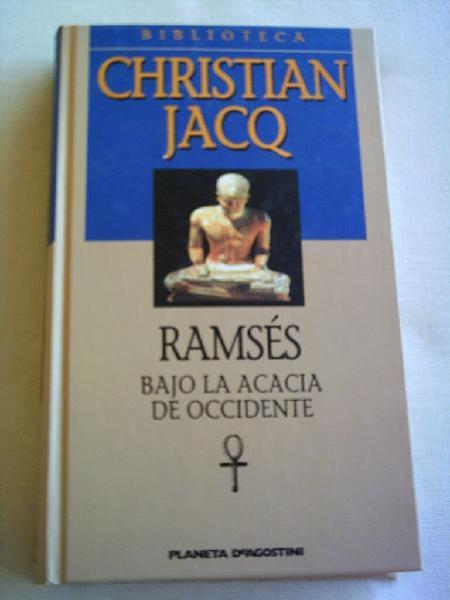 Colección 12 novelas christian jacq
