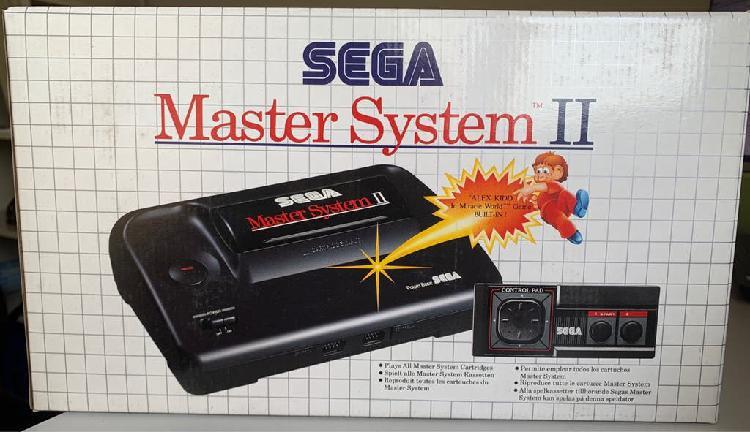 Consola vintage sega master system ii nueva