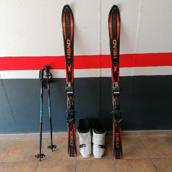 Equipo completo de esquí
