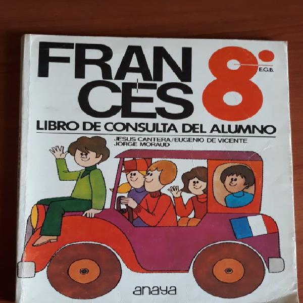 Francés 8 ° egb anaya. 1974