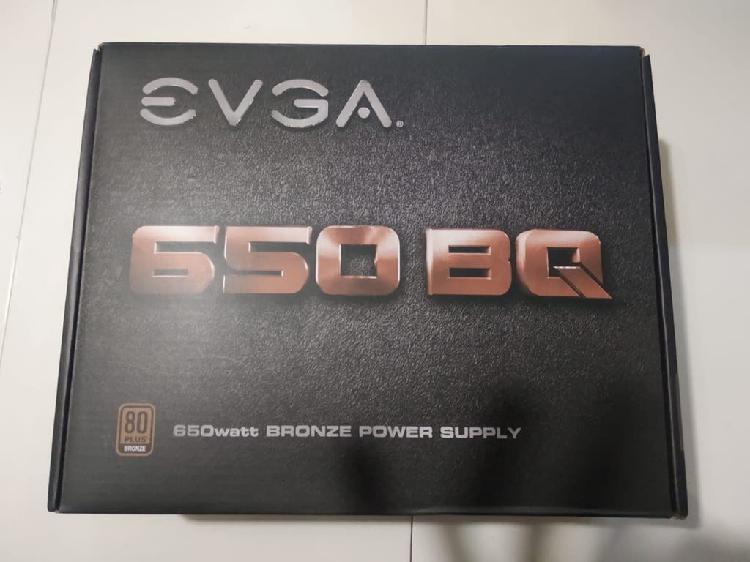 Fuente alimentación evga 650 bq 80+