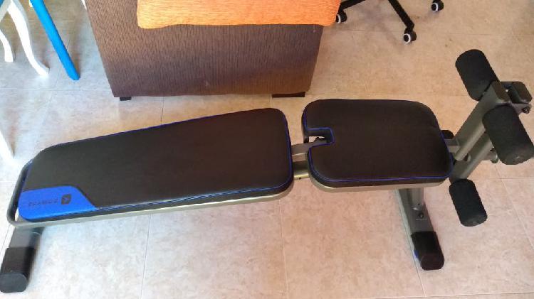 Gimnasio banco de ejercicio pesas accesorios