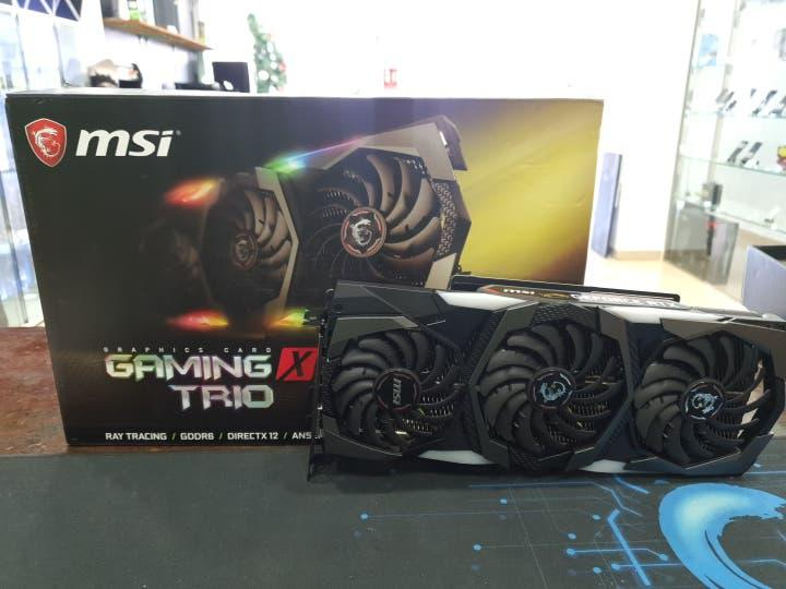 Gráfica nvidia geforce rtx 2080 msi gaming x trio
