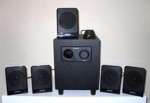 Home cinema 5.1 90w altavoces philips