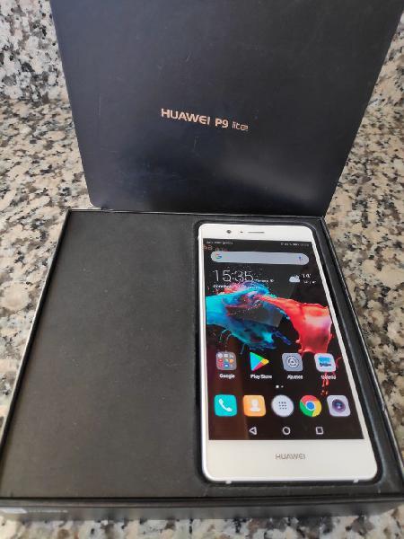 Huawei p9 lite blanco 3g ram 16+16gb. como nuevo.