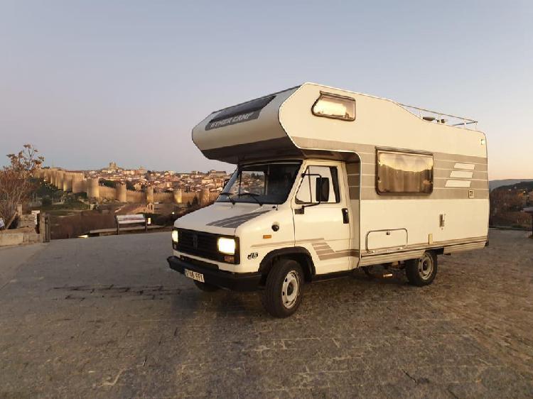 Hymer camp 280g92 peugeot j5 2.5 td 1988