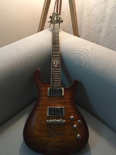 Ibanez sz520qm guitarra (seymour duncan)