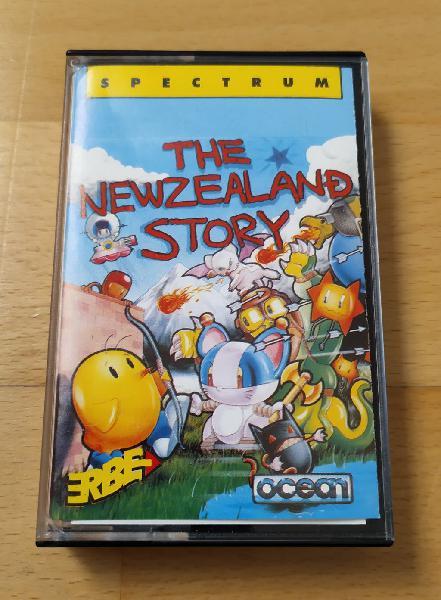 Juego Spectrum The Newzealand Story funcionado