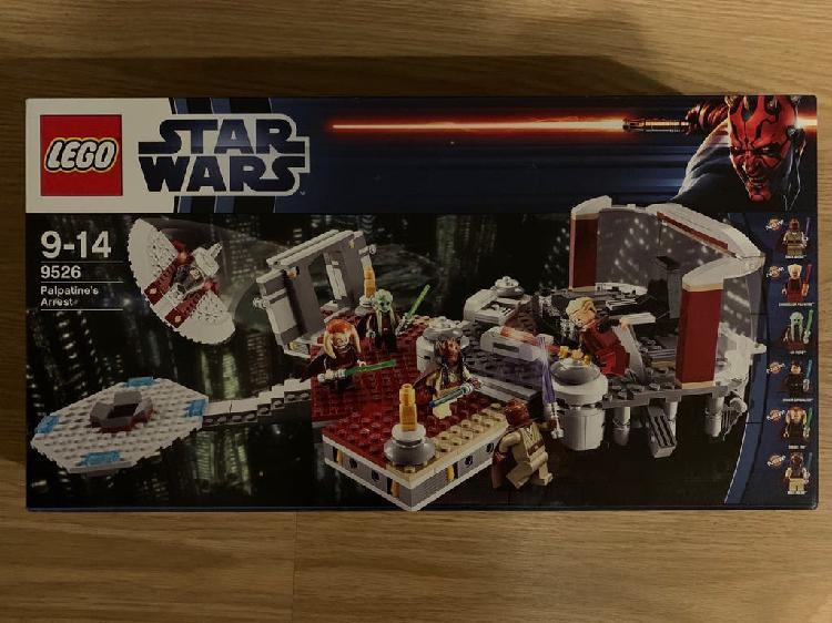 Lego star wars 7526. arresto palpatine. precintado