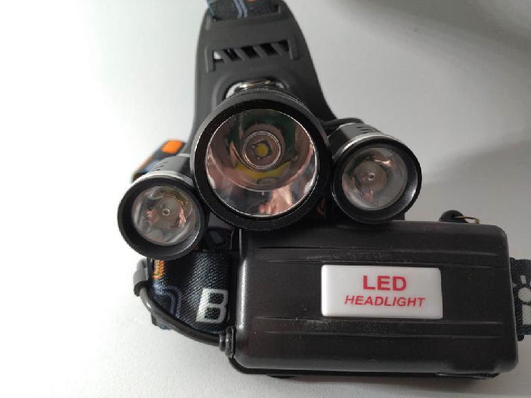 Linterna frontal de led 5000 lumenes a estrenar