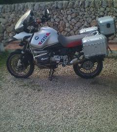 Moto bmw 1150 adv   aparece en la revista