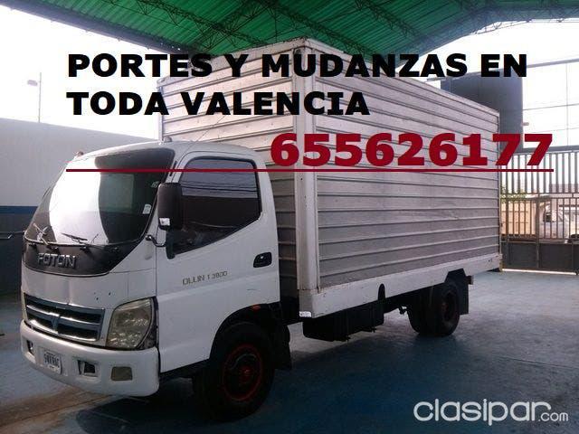 Portes y mudanzas low cost en valencia 655626177