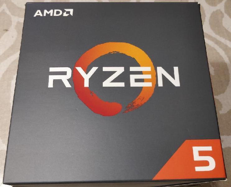 Procesador amd ryzen 5 2600 3.4gzh box completo