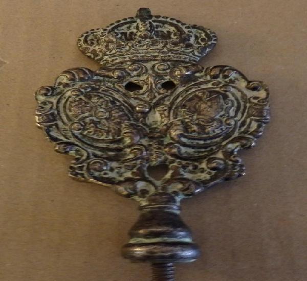 Semana santa sevilla, antigua galleta de vara hermandad de