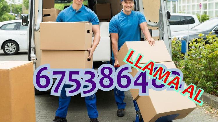 Servicios de transporte y mudanzas!!!! informate