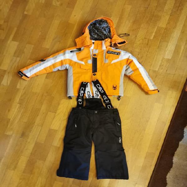 Spyder anorak esquí niño