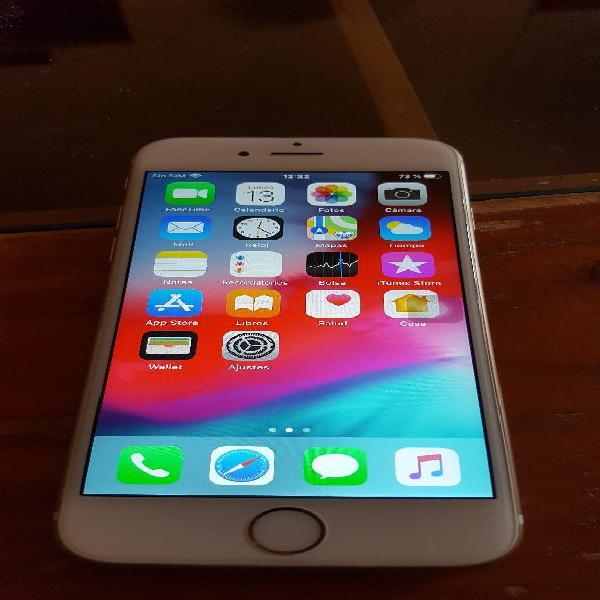 Se vende iphone 6s 16gb color blanco oro