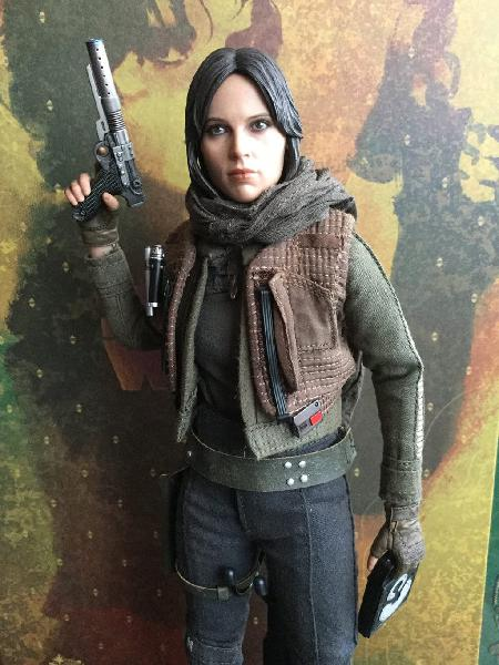 Star wars hot toys jyn erso deluxe rogue one
