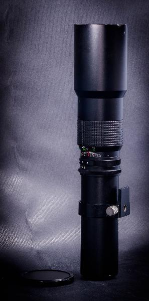 TeleObjetivo Beroflex 500mm F8.0 montura T2