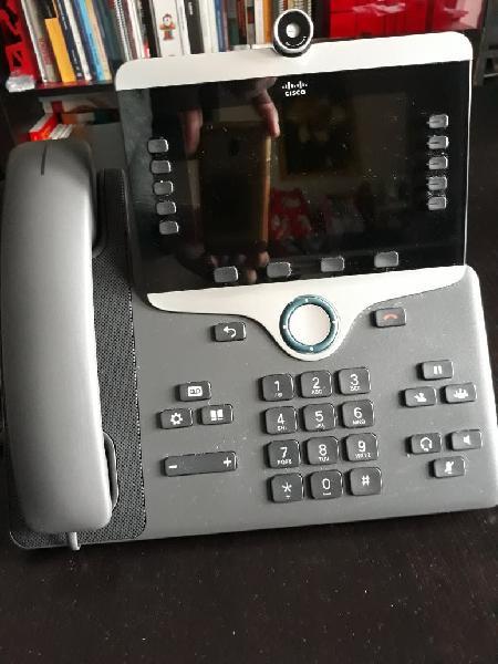 Teléfono ip cisco con cámara 8845