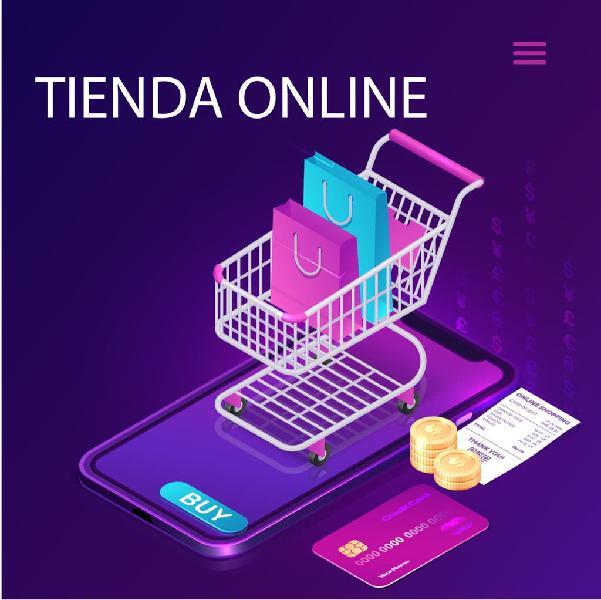 Tienda online, diseño web